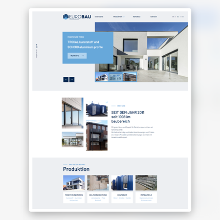 Website EuroBau
