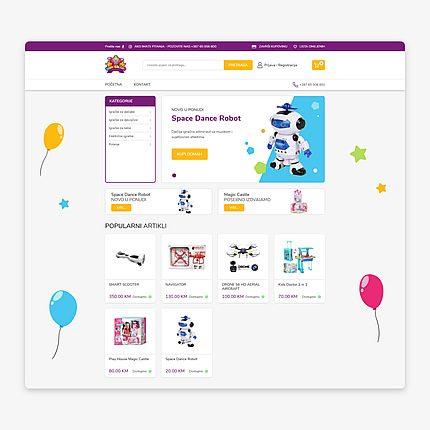 Web shop Wunderland